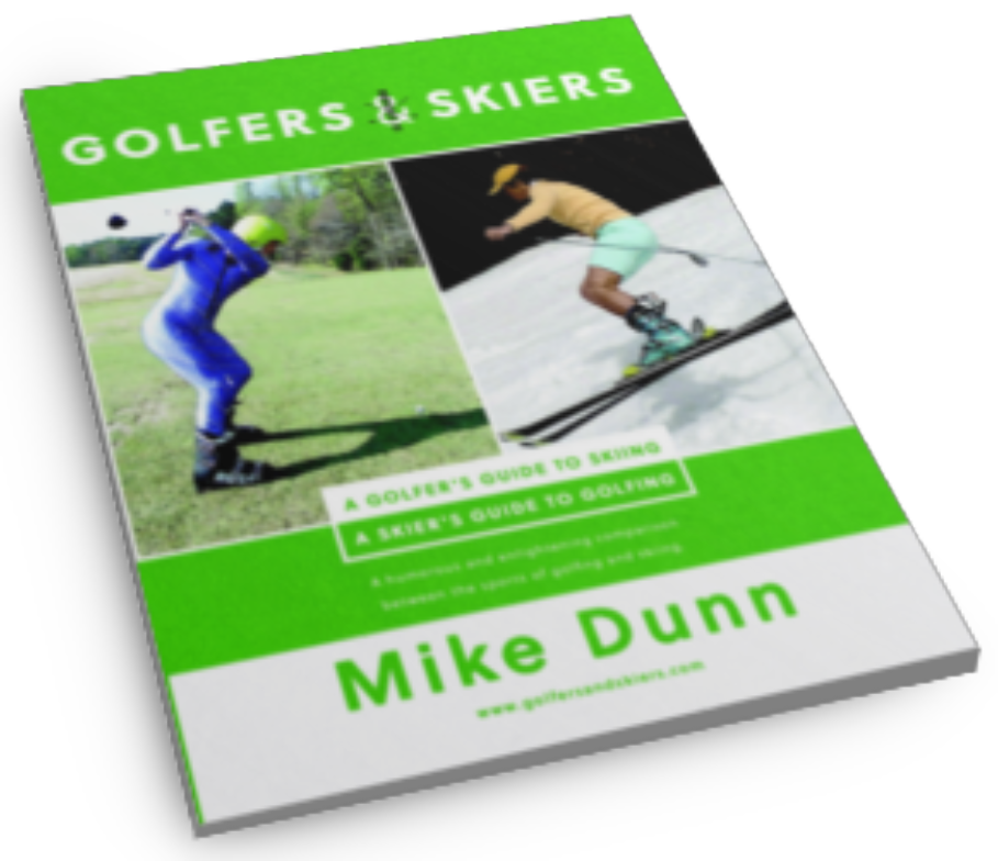 skiing and golfing book